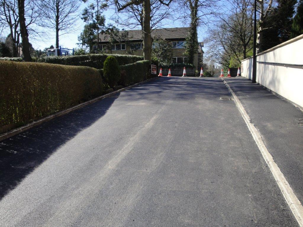 Driveway laying services