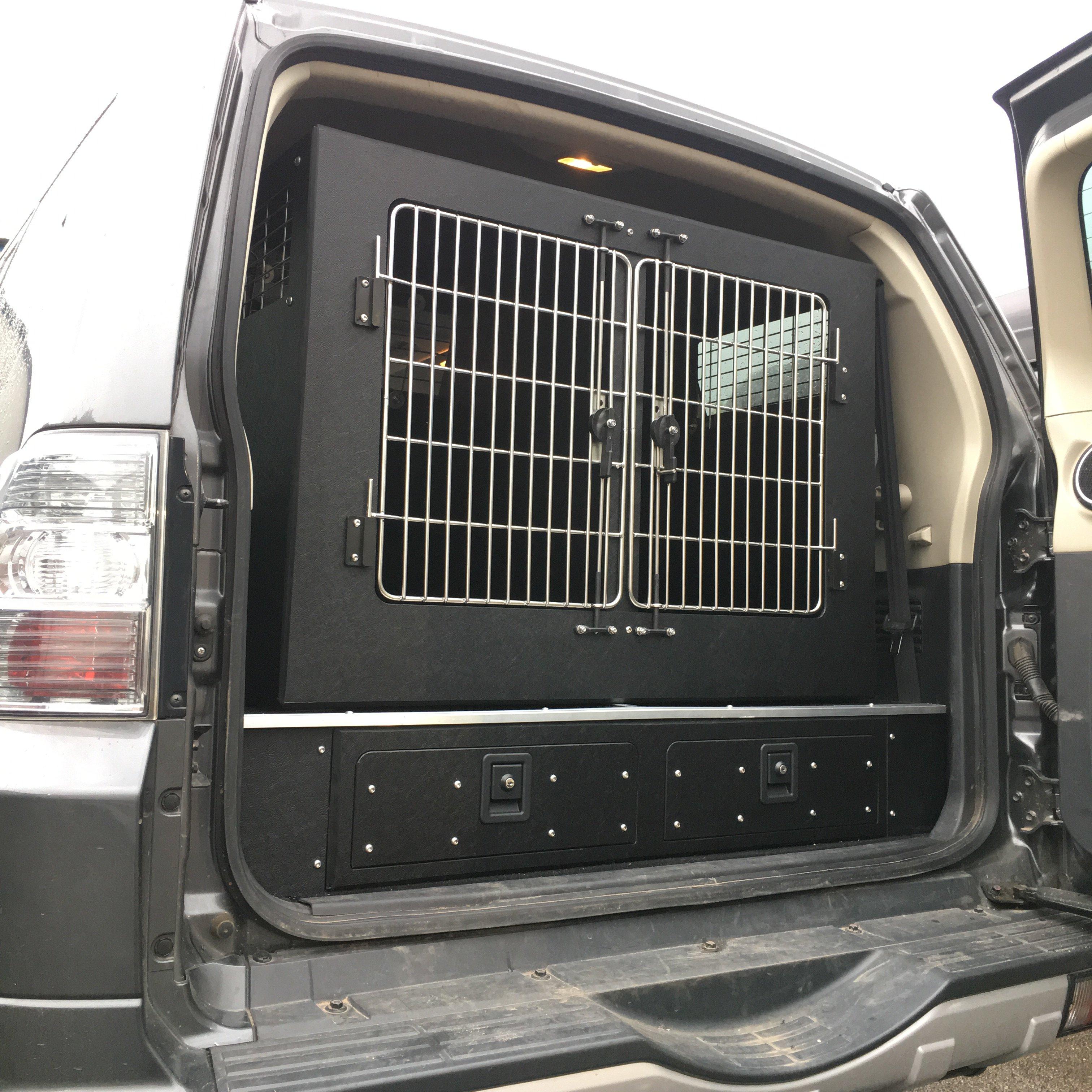 Mitsubishi Shogun Dog Box