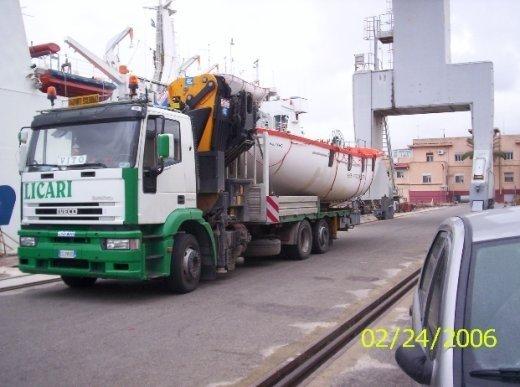 Autocarri per il trasporto di gas tecnici