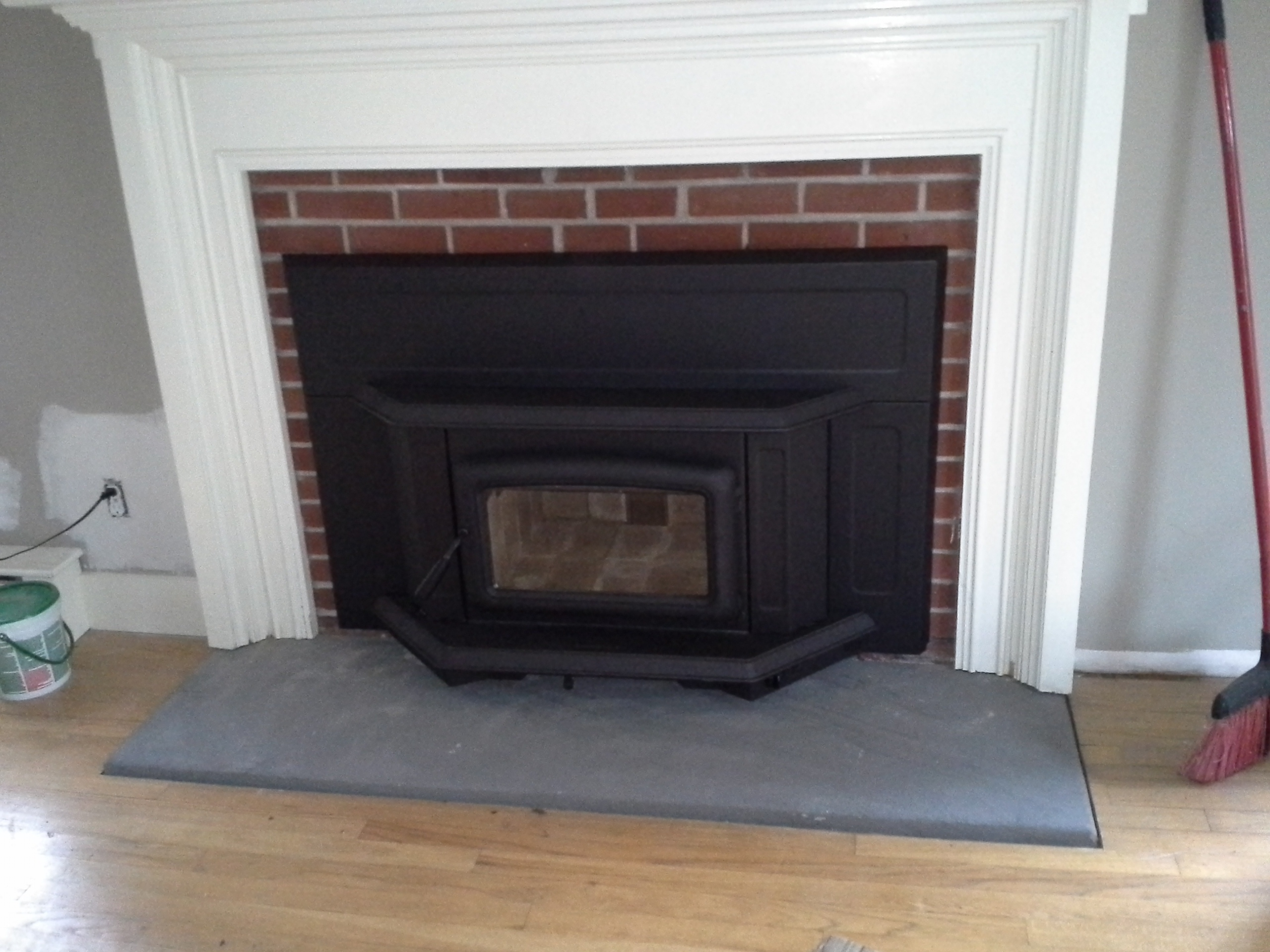 PACIFIC ENERGY WOOD BURNING INSERT...Traditional Summit Series