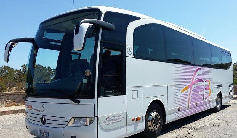 autobus bianco