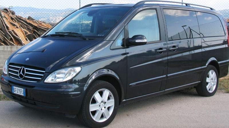 Mercedes MPV for rental in Berchidda