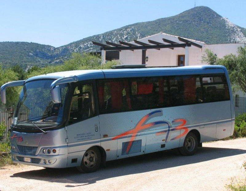 Fab bus in Berchidda