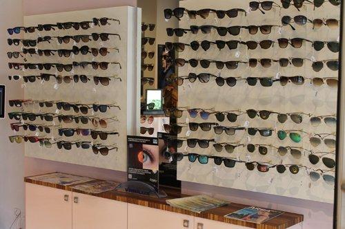 vista laterale della optometria
