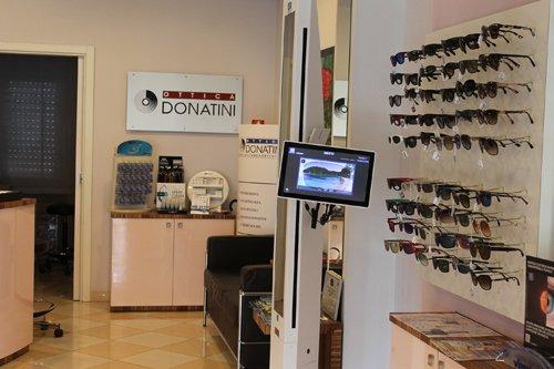 interno della optometria