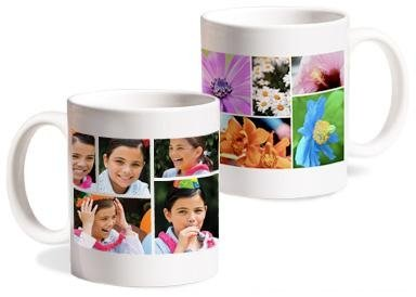 collage foto su tazza mug