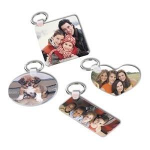 porta chiavi con foto