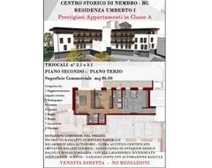 vendesi trilocale Bergamo