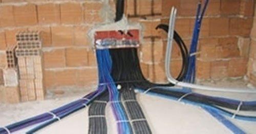 Cavi di un impianto elettrico