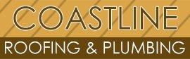 coastline roofing roof logo