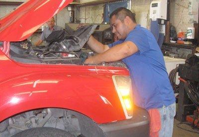 Auto AC Service Bryan, TX