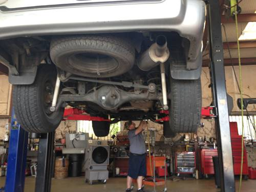 Suspension Repair Bryan, TX