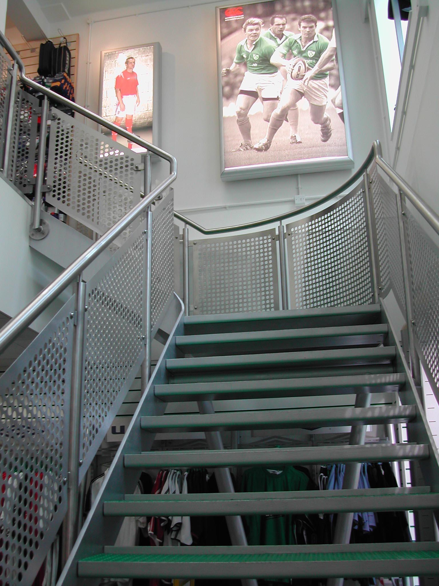 architectural designed stairway
