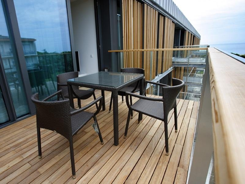 terrazza parquet