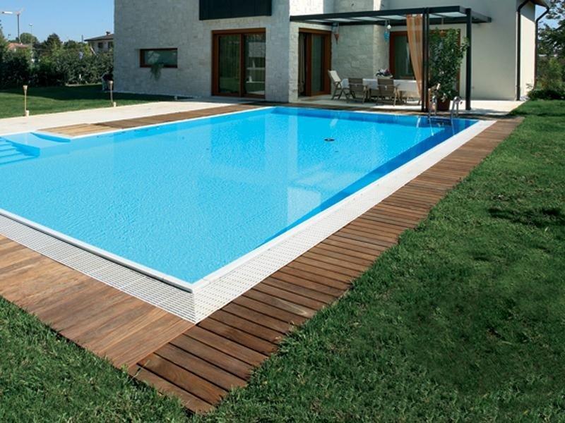 piscina parquet