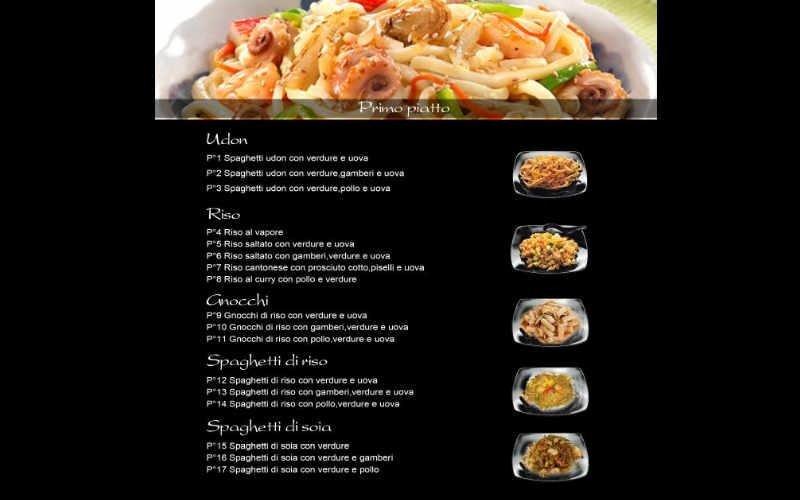 preparazione spaghetti udon treviso