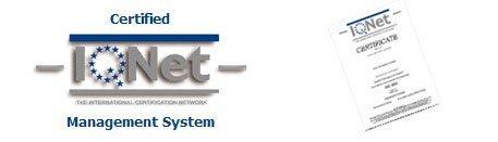 logo certified IQ Net Management System