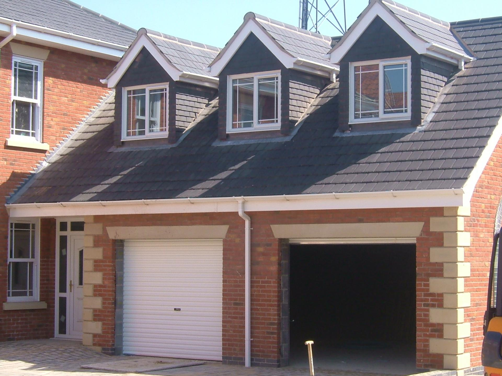 Garage Roof Fascias Amp Refurbished Garage With New Roof And