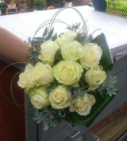 Composizioni floreali per la sposa