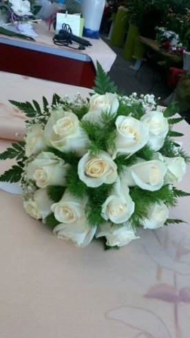 Bouquet di rose per matrimoni