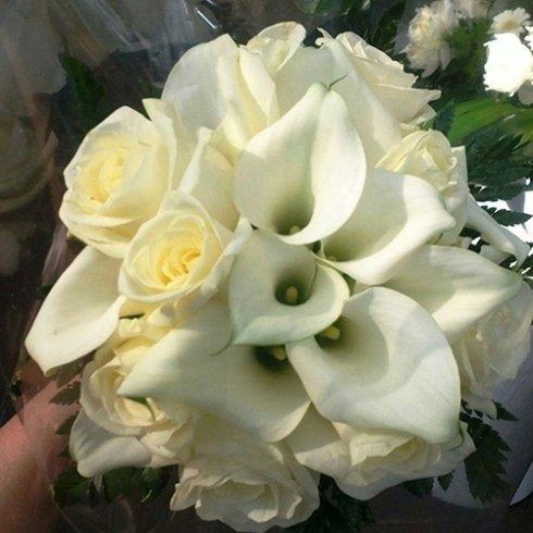 Composizioni bouquet di fiori freschi
