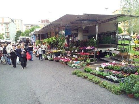 Esposizione e vendita nei mercati