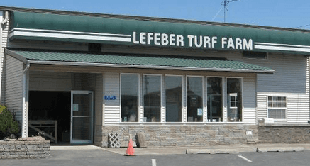 Street view of Lefeber Turf Farm Office