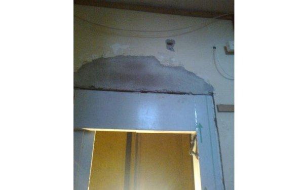 ascensore in restauro