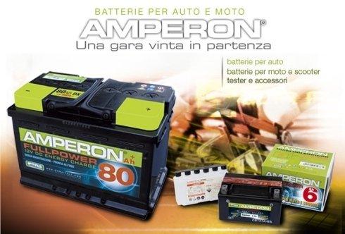 Batterie per auto e moto Amperon