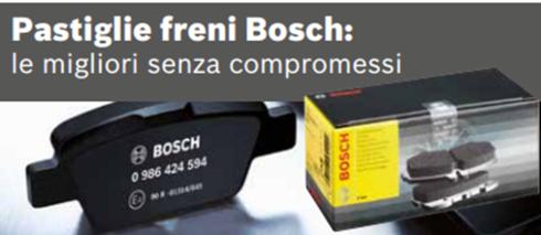 Pastiglie dei freni Bosch