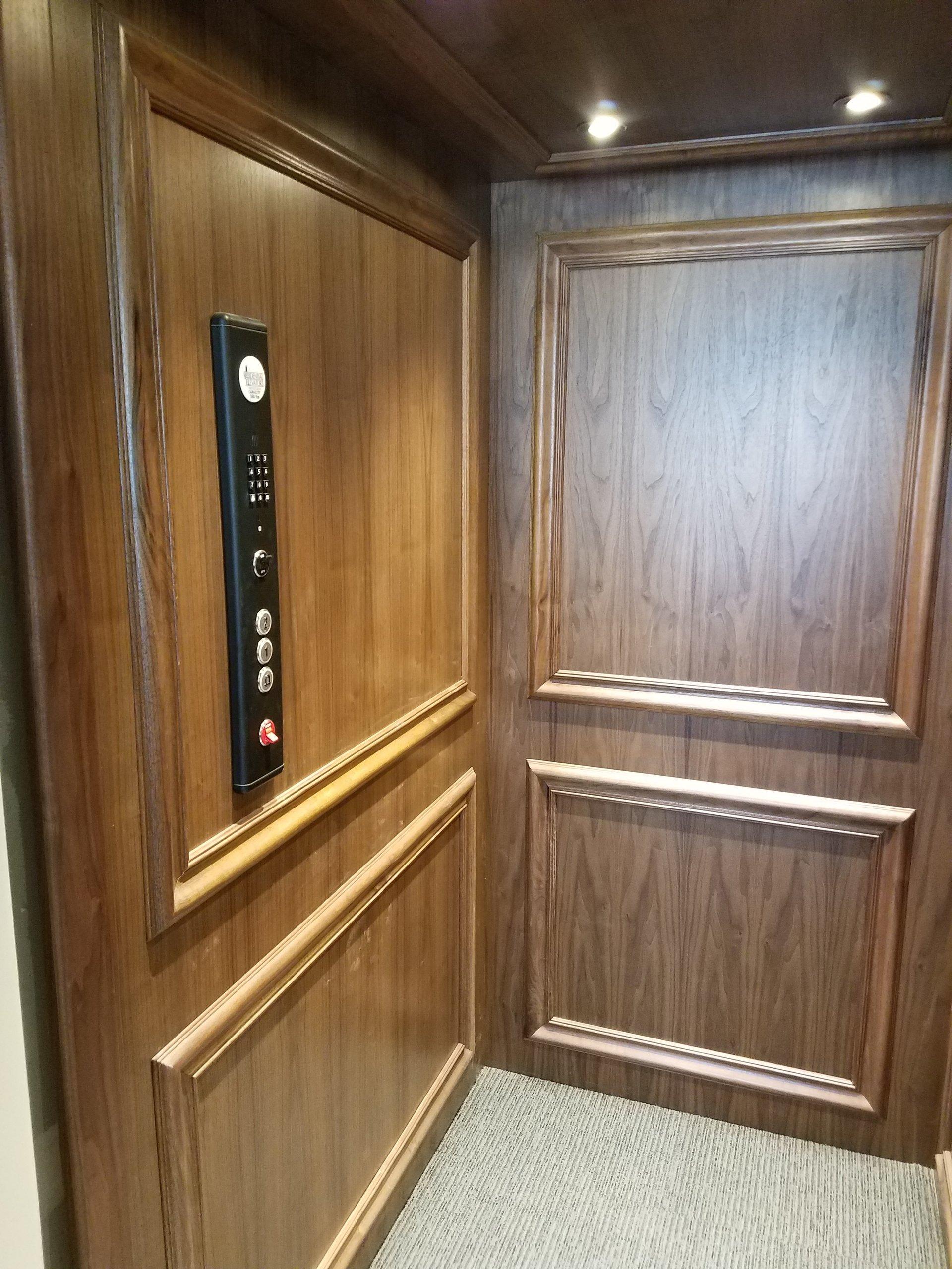High-quality custom construction - elevator