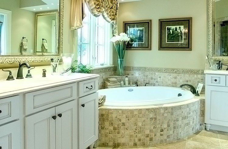 Bathroom with beautiful interiors