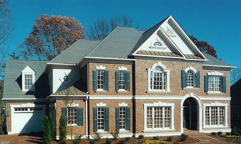 Luxury custom home - long view