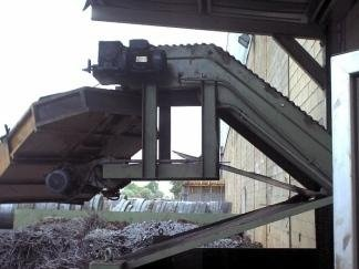 conveyor belt for steelworks