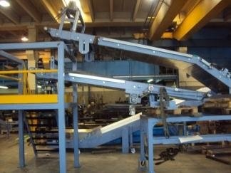 conveyors being assembled