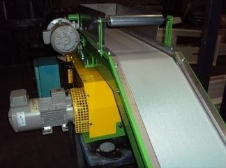 swivel conveyor belt