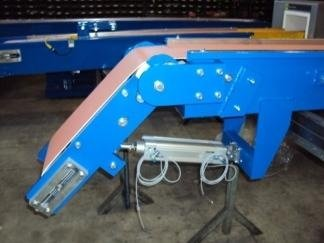 conveyor for waste