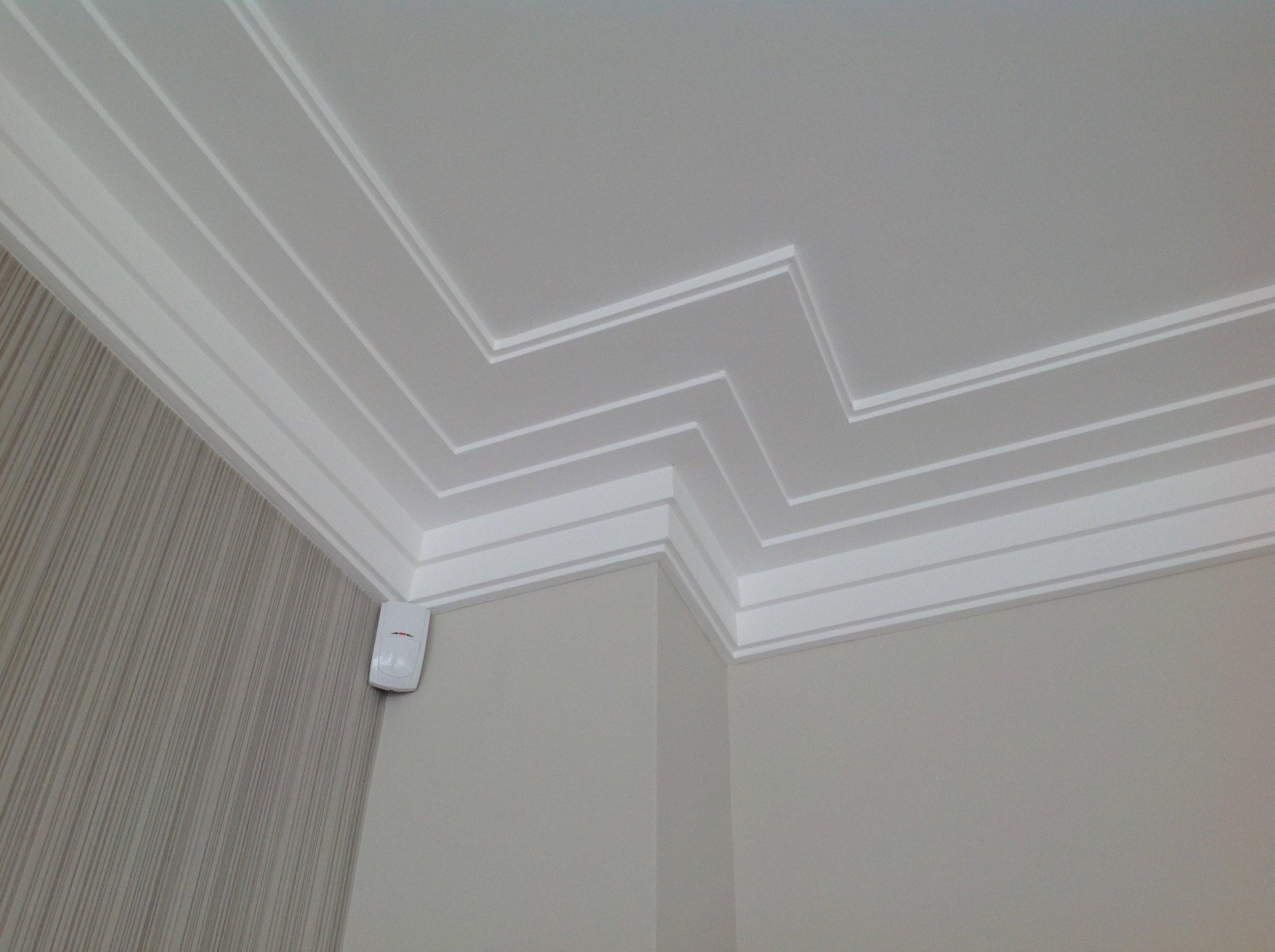 corner of a ceiling