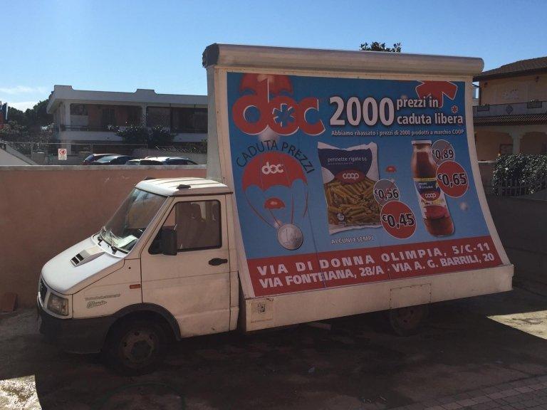 pubblicità itinerante