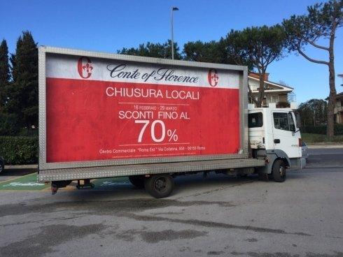 camion vela noleggio roma