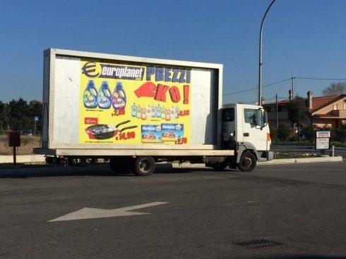 camion vele a noleggio roma