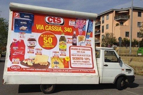 pubblicità per negozi