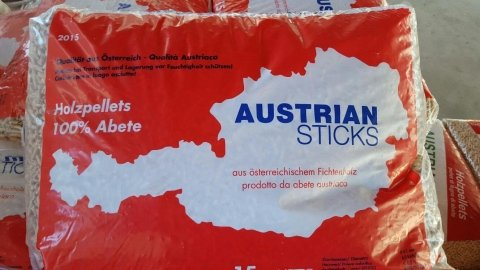 Austrian sticks pellet