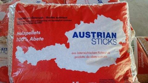 Austrian sticks pellet