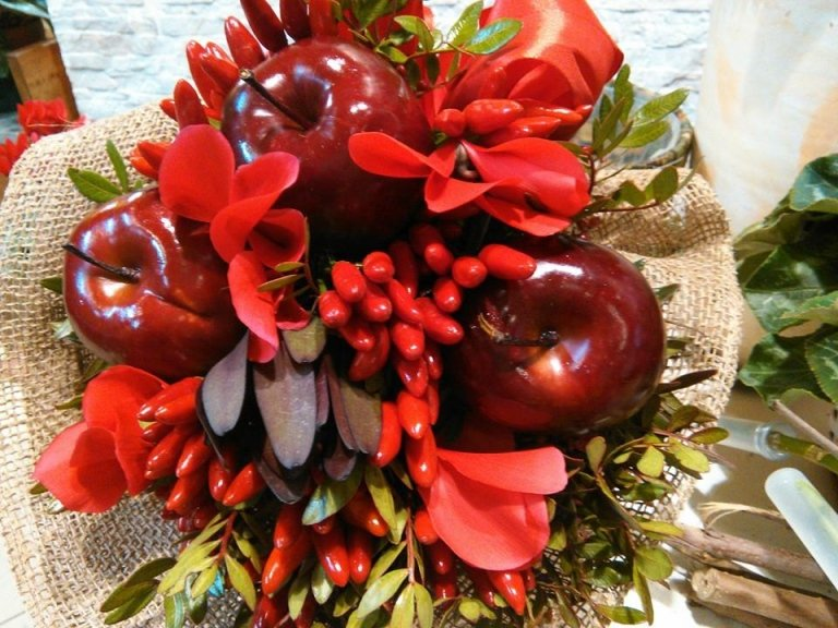 Bouquet mele e peperoncini