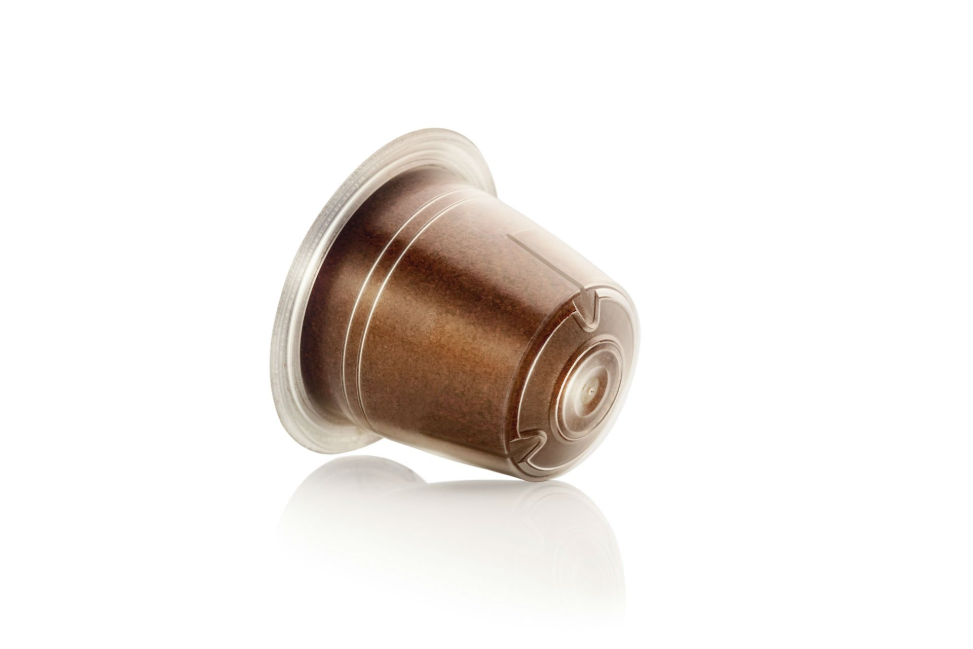 una capsula di caffe'