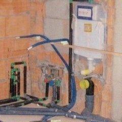 tubazioni per il bagno, tubature di scarico, installazione tubature