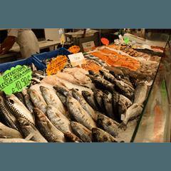 reparto pesce fresco
