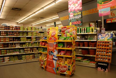 Nel supermercato troverai un reparto con prodotti per il giardinaggio
