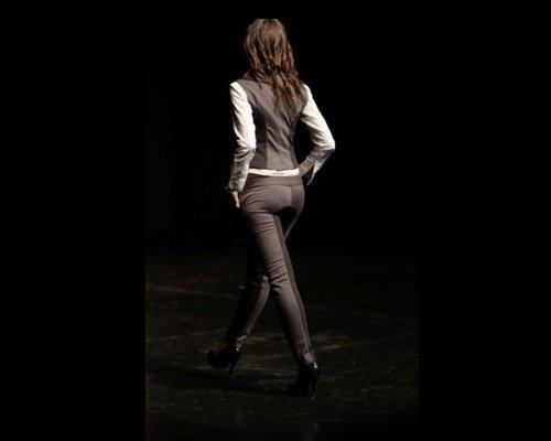 Dettaglio completo gilet pantalone